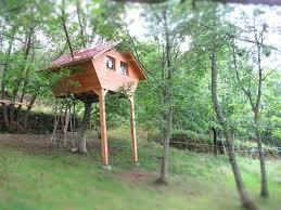 Simple Backyard Fortmake Sandbox On Bottom Slide On One Side To Diy Treehouses For Kids