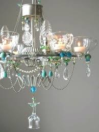 diy wine glass chandelier chandelier made from vintage teacups sherry glasses and other by diy wine diy wine glass chandelier