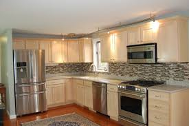 Exellent Painting Oak Kitchen Cabinets White Over Throughout Design