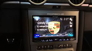 pioneer apple carplay. pioneer avn4000nex porsche cayman carerra boxster head unit upgrade with apple car play - youtube carplay