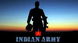 indian army hd wallpapers 1080p with picture of solr in silhouette