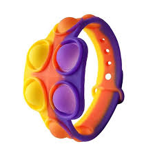 Jolly Pop it Bracelets,Push Bubble Sensory Pop it Fidget Bracelet Toy for  Toddler/Kids/Girls/Adults/Anxiety/Autism/ADHD Silicone Wearable Stress  Relief Pop it Fidget Wristband/Watch Toys for Kids - Walmart.com -  Walmart.com