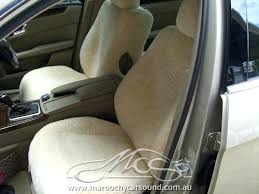 sheepskin car seat covers melbourne e class sound custom