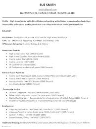 Grad School Resume Example Academic Resume Template For Graduate ...