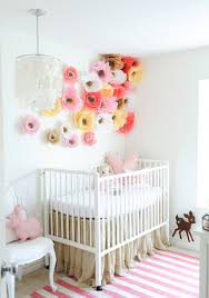 diy wall decor paper. Nursery Wall Art 8 Diy Paper Flower Decor