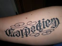 Nici Carpe Diem Carpe Diem Mein Lebensmotto Tattoos Von Tattoo