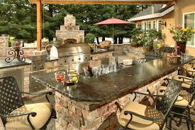 custom outdoor kitchen designed and manufactured by galaxy outdoor of las vegas nevada