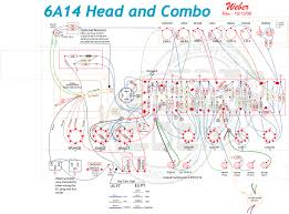 6a14 amp kit schematic