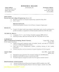 Sample Resume In Ieee Format Best Of General Resume Template Free Top Result Sample Resume For Students