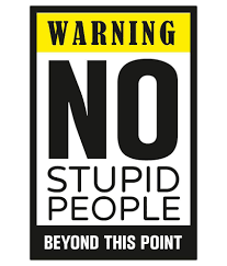 Casper Me Warning No Stupid People Humor Paper Art Prints Without