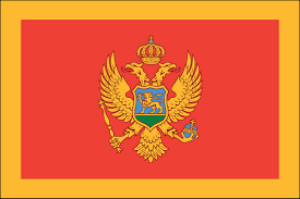 This engaging geographic study aid has you. Montenegro Flag