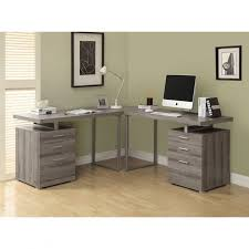 shaped home office. Monarch Reclaimed Look L Shaped Home Office Desk Hayneedle With Lovely And 7