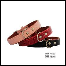 china pet supply products soft touch pu padded leather dog collar china red leather dog collar pink leather dog collar