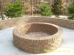 build your own fire pit in a weekend for under 200 bricks inside brick pits designs 0