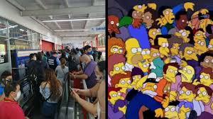 Videos:¡Lo volvieron a hacer!, los Simpson predijeron desmanes del día sin  IVA | | Minuto30.com