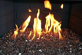 indoor fire exotic fire glass indoor fireplace copper reflective fire glass a 1 4 inch exotic