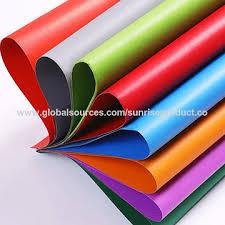 china eco friendly decorative colorful corrugated paper