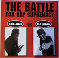 Battle for Rap Supremacy: KRS-One Vs. MC Sha
