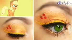 applejack my little pony inspired eyeshadow by eolizemakeup eolize makeup