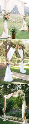 Best Floral Wedding Altars Arches Decorating Ideas Stylish Sorry Diy The Thesorrygirls Decor Drapes Wood Photobooth Photoshoot Summer Flower Girls Arbor Arch
