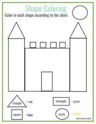 Small Picture Free Printable House Shapes Worksheet I would use this at the