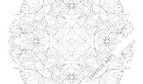 Mandala Coloring Pages Refinancemortgageratesco