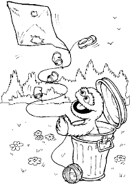 Small Picture Sesame Street Coloring Pages The All Character Gianfredanet