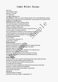 Welder Resume Resumes Mig Job Description Welders Career Objective