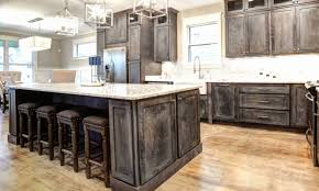 how to paint kitchen cabinets distressed gray lovely kitchen rustic kitchen with industrial touches and whitewashed