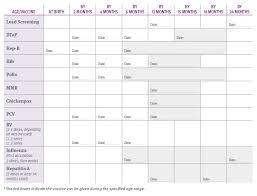 Blank Immunization Chart Printable Immunization Chart Shop Fresh