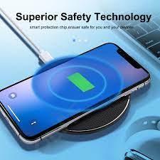 Sạc Không Dây Thu Dành Cho Xiaomi Redmi Note 8/ Note 8 Pro/Note 8T /Redmi  8A 10W Sạc Nhanh Miếng Lót Không Dây Qi Sạc|Mobile Phone Chargers