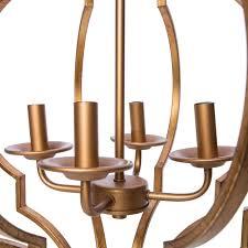 trellis lighting. Gold Leaf Trellis 4-light Chandelier - Free Shipping Today Overstock 16602869 Lighting