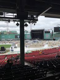 Fenway Seating Chart Foo Fighters Fenway Park Section Grandstand 15 Row 10 Seat 4 Foo