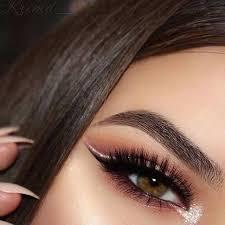 eyeshadow pink and makeup image