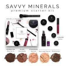an image of a another dark savvy minerals makeup starter kit
