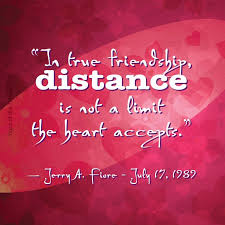 Quotes About Friendships And Distance Quotes About Friendships And Distance Gorgeous Distance Friendship 99