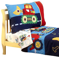 room sets accessories under construction toddler bedding set bulldozer bed