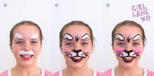 Small Picture Easy Halloween Face Painting Tips for Girls Have a Fang tastic Time