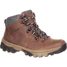 rocky endeavor point women s waterproof outdoor boot large