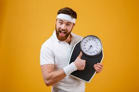 Measure body weight after one month