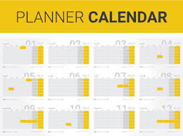 Monthly Planner Free Download Vector Monthly Calendar Planner Free Vector Download 1 817