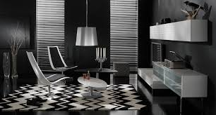 black and white modern furniture. Source: Http://cdn.home-designing.com/wp-content/uploads/2009/08/black -living-room.jpg Black And White Modern Furniture R