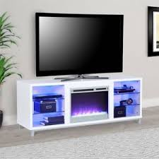 white 70 inch tv stand. Brilliant White Image Is Loading ModernFireplaceTVStandWhite ConsoleMediaEntertainment And White 70 Inch Tv Stand