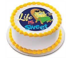 Spongebob Squarepants Work Play Photocake Cake Design Cakescom