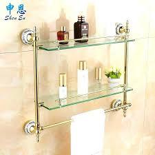shelves with towel bar shelves with towel bar bathroom racks gilding bathroom shelf toilet