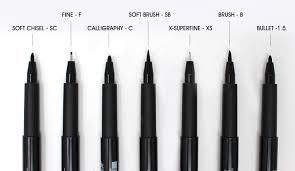 Advantages Of A Light Pen All You Need To Know About Faber Castell Pitt Artist Pens
