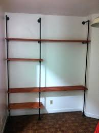 pipe shelving diy plumbing pipe shelf steel pipe shelving diy