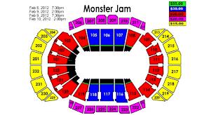 Interpretive Monsters Hockey Seating Chart 2019