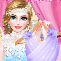 bridal boutique beauty salon wedding makeup dressup and makeover games