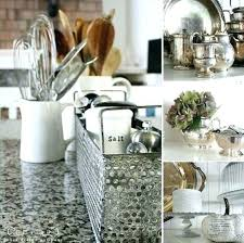 kitchen counter decor rustic best decoration stylish countertop decorative accessories